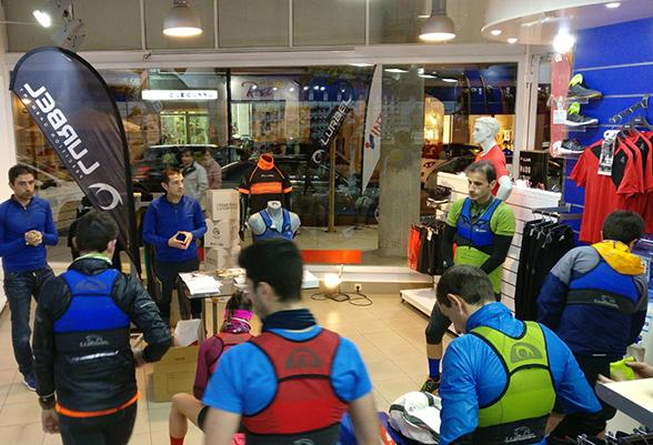 Test Lurbel Kylie en Intersport Rull Ontinyent